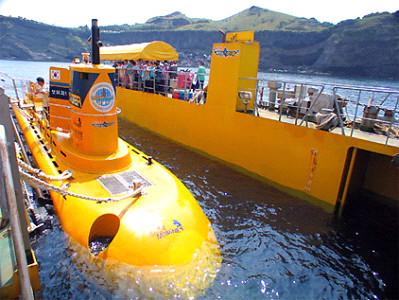 제주 마라도잠수함